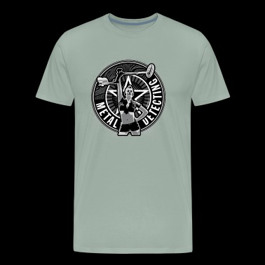 Metal Detecting By Detonateur - Men's Premium T-Shirt