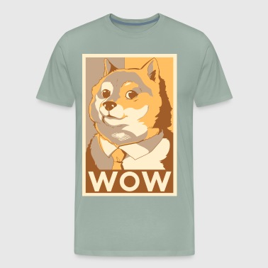 doge wow - Men's Premium T-Shirt