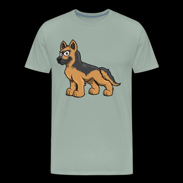 Shepherd dog - Men's Premium T-Shirt