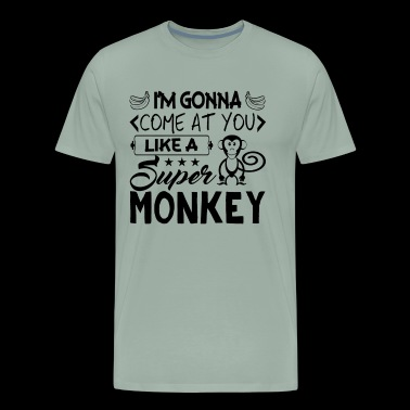 Monkey Shirt - Super Monkey T Shirt - Men's Premium T-Shirt