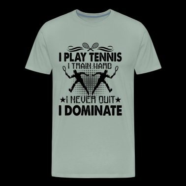 Tennis Shirt - I Play Tennis T shirt - Men's Premium T-Shirt