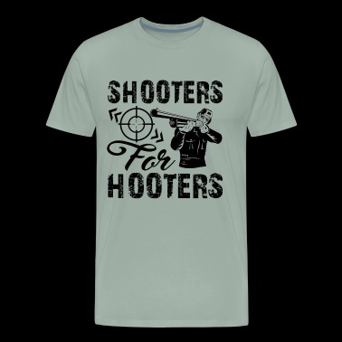 Shooters Shirt - Shooters For Hooters T Shirt - Men's Premium T-Shirt
