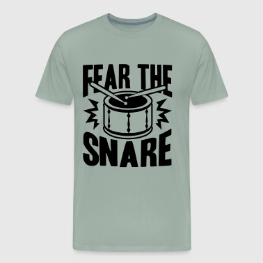 Fear The Snare Drum Shirt - Men's Premium T-Shirt