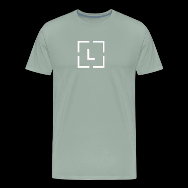 Lenica Apparel - White logo - Men's Premium T-Shirt