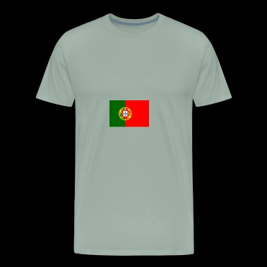 Portugal flag - Men's Premium T-Shirt