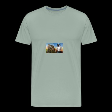PUBG vs Battle Royale 926359 - Men's Premium T-Shirt