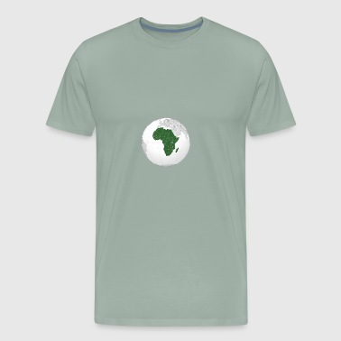 Map Of Africa - Men's Premium T-Shirt