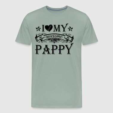 I Love My Awesome Pappy Shirt - Men's Premium T-Shirt
