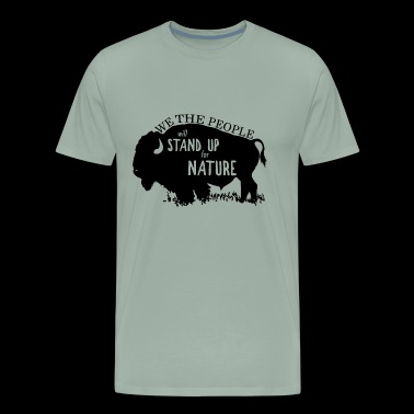 Alt US National Park Service bison - Men's Premium T-Shirt