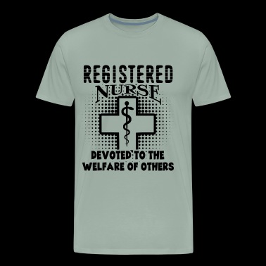 RN Shirt - Registered Nurse T shirt - Men's Premium T-Shirt