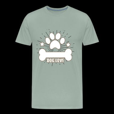 Dog Dog Dog Lover - Men's Premium T-Shirt