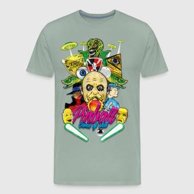 Pinball game of skill vintage - Men's Premium T-Shirt