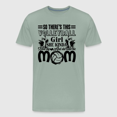 Volleyball Volleyball Mom - Men's Premium T-Shirt