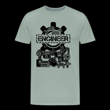Funny Civil Engineer Shirt - Men's Premium T-Shirt