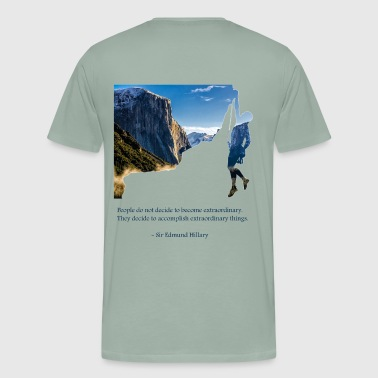 Sir Ed quote - Men's Premium T-Shirt