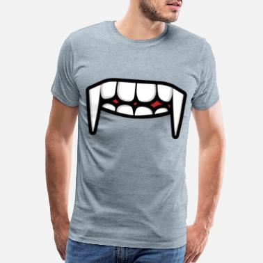 Mouth face mask mask face tooth mouth - Men's Premium T-Shirt