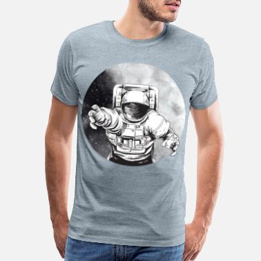Nasa Astronaut in space - Men's Premium T-Shirt
