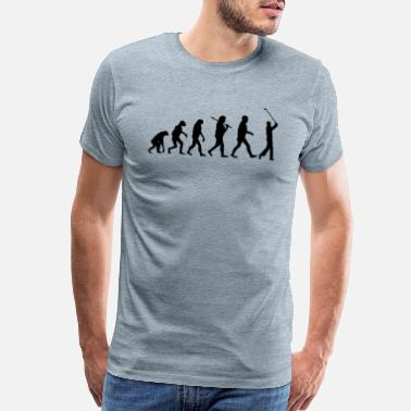 Evolution evolution Golf - Men's Premium T-Shirt