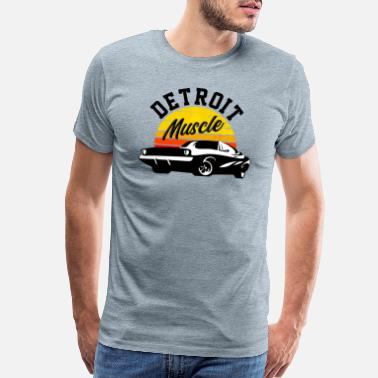 Speedway DETROIT MUSCLE - Men's Premium T-Shirt