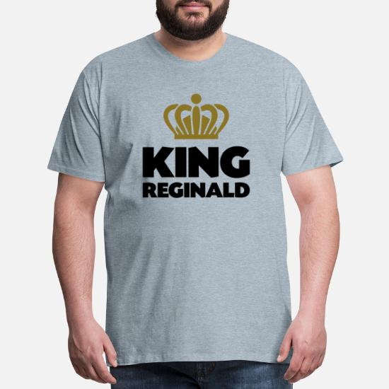 REGINALD First Name T Shirt Of Course I/'m Awesome Custom Name Men/'s T-Shirt