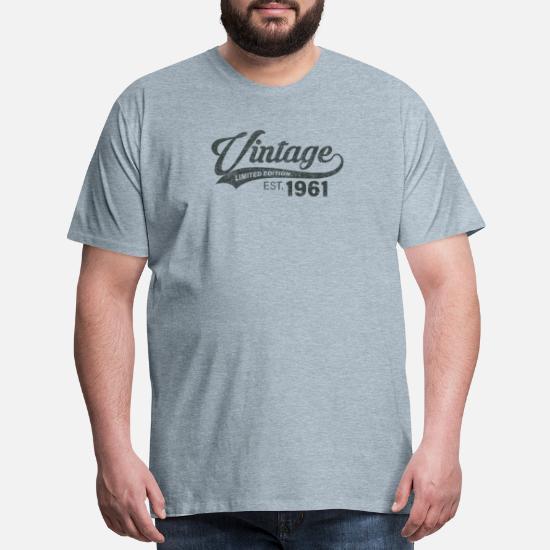 VINTAGE 1961-60th Birthday T-Shirt Gift 2021 Premium Quality 2