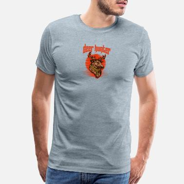 Renos Deer Hunter - Men's Premium T-Shirt
