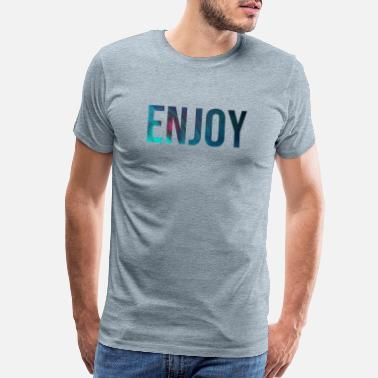 Selflove ENJOY (plain and simple) - Men's Premium T-Shirt