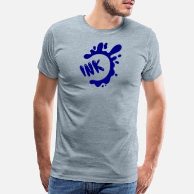 Inka splash ink - Men's Premium T-Shirt