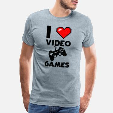 Roleplay I Love Video Games - Gaming - Men's Premium T-Shirt
