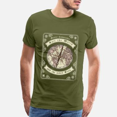 Tortuga Sail the World and the seven Seas - Men's Premium T-Shirt