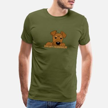 Liv Cute Irish Terrier - Men's Premium T-Shirt