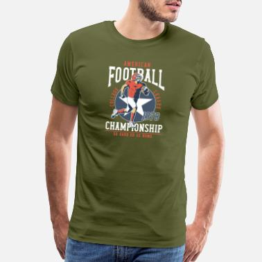 Championship football championship - Men's Premium T-Shirt