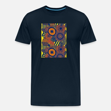 Abstract Beautiful natural flowers - Men's Premium T-Shirt