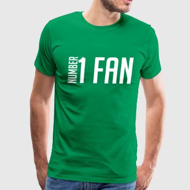 Number 1 Fan - Men's Premium T-Shirt