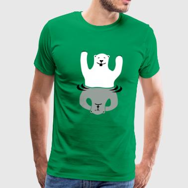 Bipolar bear - Men's Premium T-Shirt