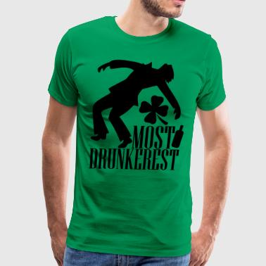 Most drunkerest - Men's Premium T-Shirt