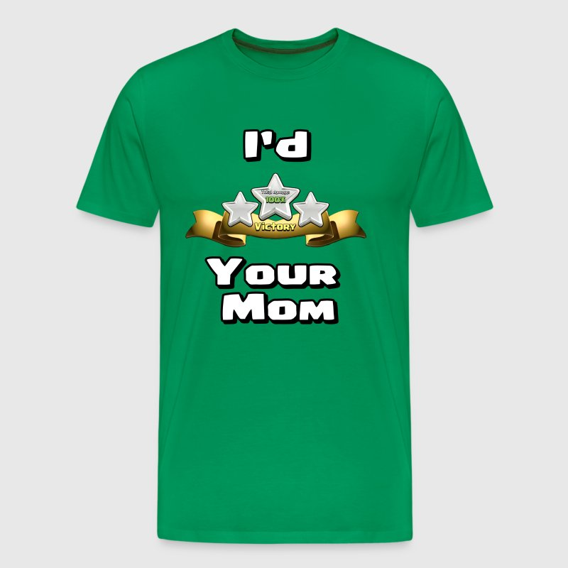 I'd Three Star Your Mom - Men's Premium T-Shirt