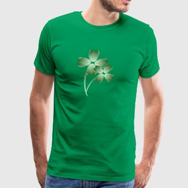 Soft Shamrocks - Men's Premium T-Shirt