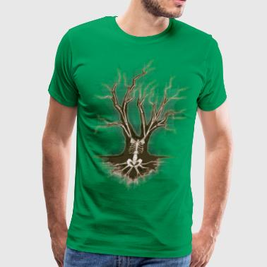 skeletal_tree - Men's Premium T-Shirt