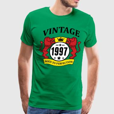 Vintage 1997 Aged to Perfection - Men's Premium T-Shirt