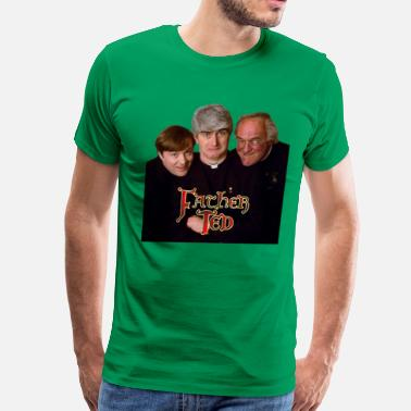 Father Ted father ted trio - Men's Premium T-Shirt