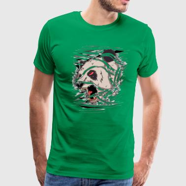 Awesome Panda Art Oso panda momia art - Men's Premium T-Shirt