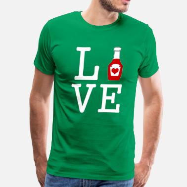 I Love Ketchup i love ketchup - Men's Premium T-Shirt