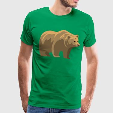 Brown Bear - Men's Premium T-Shirt