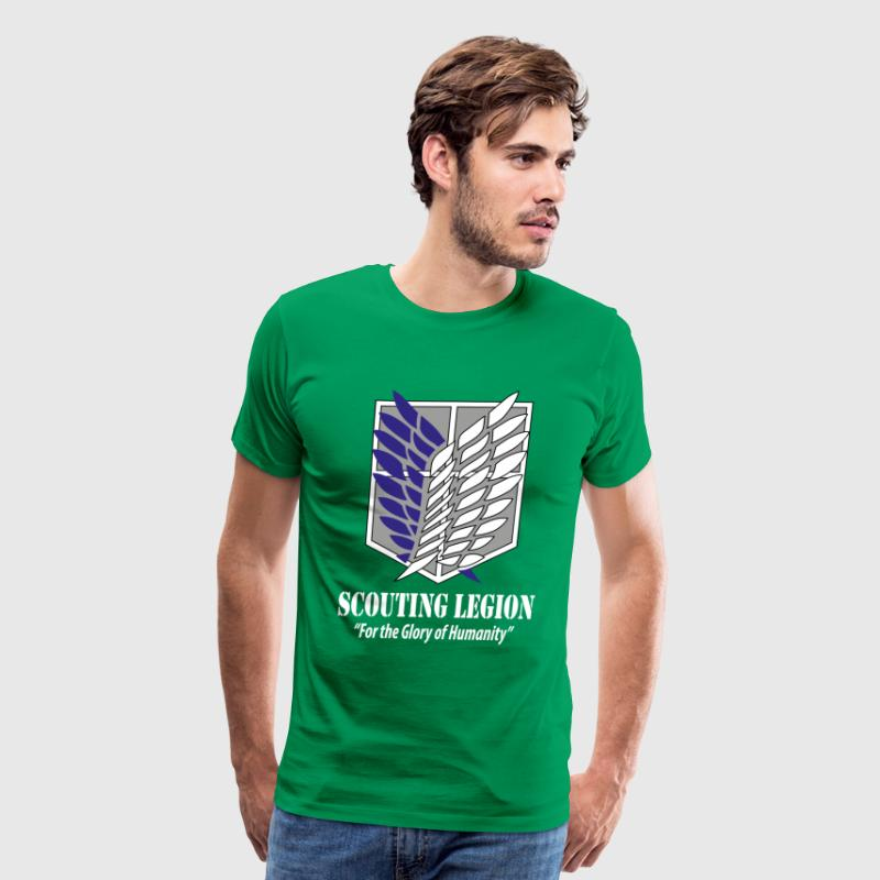 Scouting Legion- Attack on Titan - Men's Premium T-Shirt