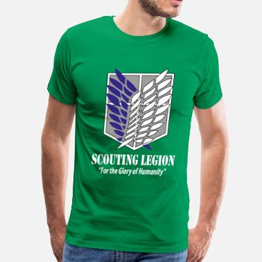 Legion Military Scouting Legion- Attack on Titan - Men's Premium T-Shirt