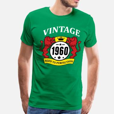 1960 Aged To Perfection Vintage 1960 Aged to Perfection - Men's Premium T-Shirt