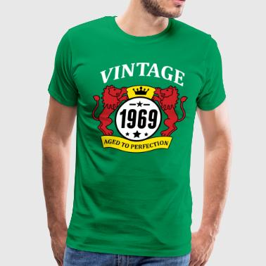 Vintage 1969 Aged to Perfection - Men's Premium T-Shirt