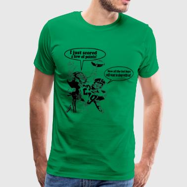 Humorous Football - Men's Premium T-Shirt
