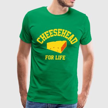 Cheesehead for life - Men's Premium T-Shirt